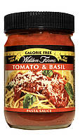 """Соус для пасты """"Томат и базилик"""" Walden Farms 0 калорий"""