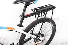 Велосипедный багажник консольный универсальный под велосумку штаны велобагажник регулирующий, фото 3