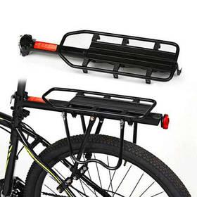 Велосипедный багажник консольный универсальный под велосумку штаны велобагажник регулирующий