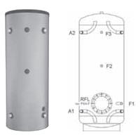 Буферная емкость для отопления Meibes PSH-F 2000