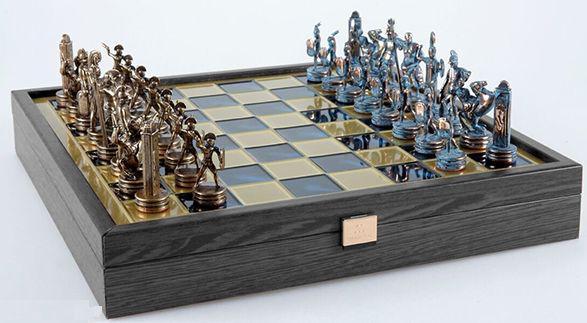 Набор для игры в шахматы Manopoulos SK4BBLU