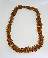 Ювелірне намисто з бурштину