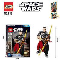 Конструктор KSZ 618 Звездные Войны Star Wars Чиррут Имве 87 деталей, фото 1