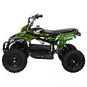 Квадроцикл PROFI HB-EATV 800C-NEW5 мотор 800W графити зеленый, аккумулятор 3*12v/12ah, скорость 30км/ч, фото 4