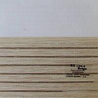 Рулонные шторы День-Ночь Ткань Холст Бежевый ВН-130\4