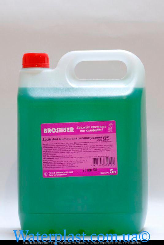 Жидкое мыло brosser 5 литров яблоко