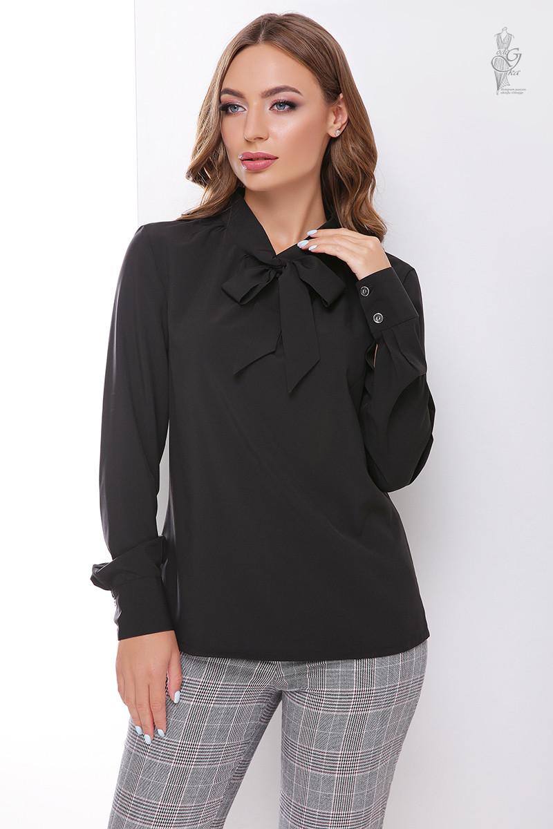 Блуза женская Каролина-2 с длинным рукавом