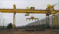 Кран мостовой двухбалочный специальный с траверсой г/п 40/20 т.