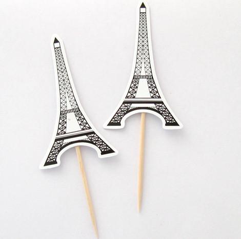 """Піки """"Париж"""" (8шт/уп)"""