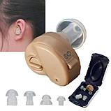 Внутриушной усилитель слуха, слуховой аппарат Axon К-80 (Аксон К-80), фото 3