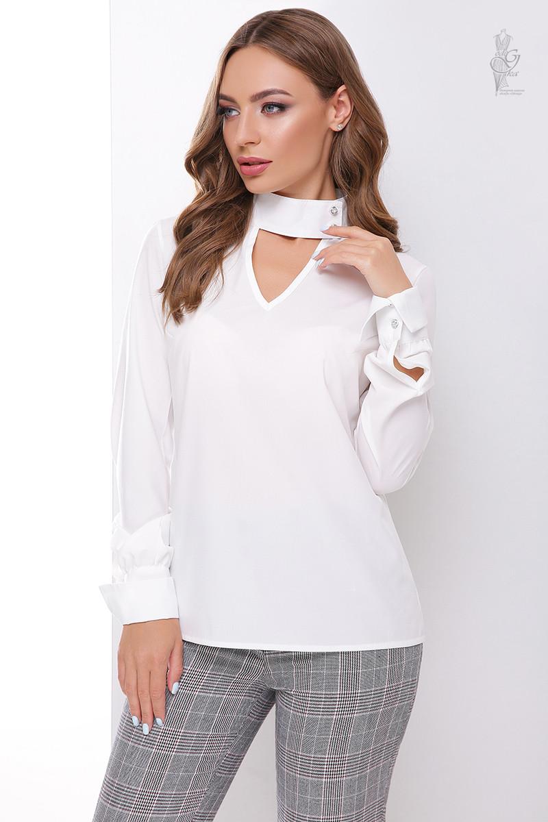 Блуза женская Лика-2 с длинным рукавом