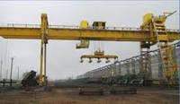 Кран мостовой двухбалочный специальный с траверсой г/п 60/12,5 т.
