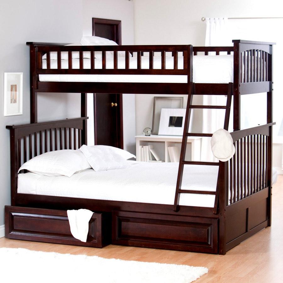 Двухъярусная кровать детская Виолетта 1