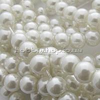 Жемчуг керамический 6 мм белый (130-150 шт)