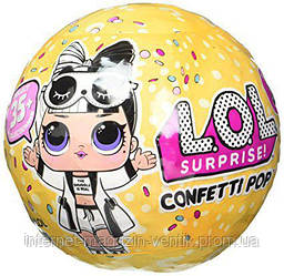 Кукла Лол Конфетти Поп Оригинал LOL Confetti Pop S3 Wave 2