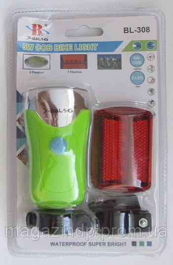 Велосипедный фонарь bl-308 Код:475252769