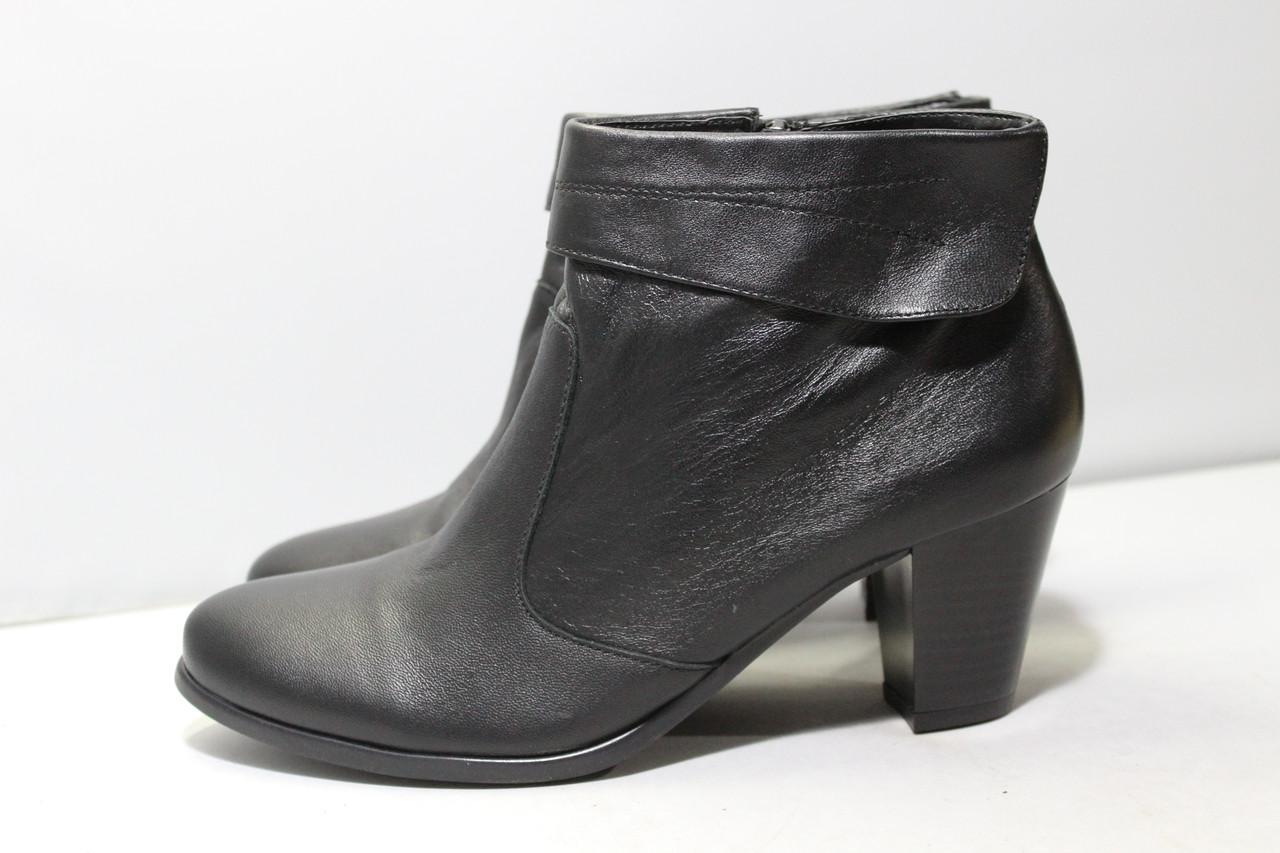 Кожаные женские ботинки Di Fontana 40р.