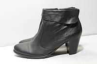Кожаные женские ботинки Di Fontana 40р., фото 1