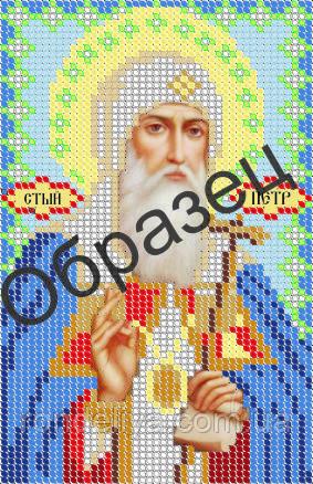 Схема для вышивки бисером «Св.Петр Московский»