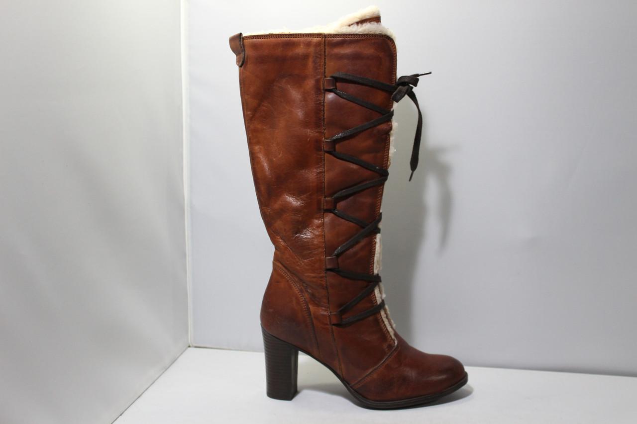 Женские кожаные сапоги Andre
