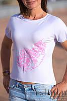 """Футболка """"Pink print"""", фото 1"""