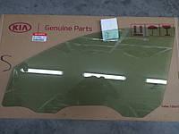Стекло передней двери левое, KIA Sportage 2010-15 SL, 824113u000a