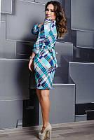 Женское платье в клетку, фото 1