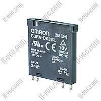 Реле твердотельное Omron G3RV-D03SL 24VDC
