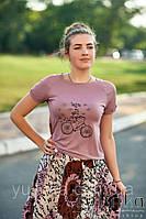 """Футболка """"Pink bike"""", фото 1"""