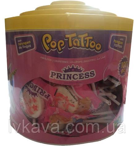 Леденцы Pop Tattoo Princess , 8 гр х 100 шт, фото 2