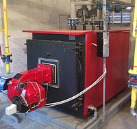 Газовый жаротрубный водогрейный котел Колви 5000 (5000 квт)