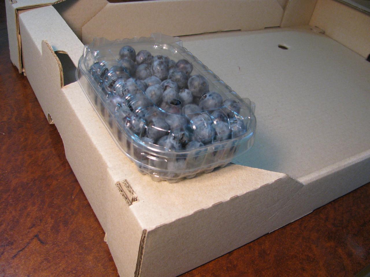 Пластиковий контейнер для 125 р. ягід