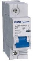 Автоматические выключатели CHINT DZ158-125 1P 63A 6kA на DIN-рейку