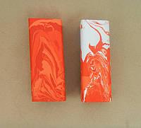 Брусок Красно-белый под всадной монтаж рукояти ножа