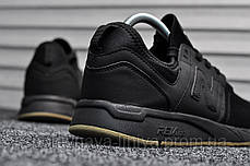 Кроссовки мужские черные 247 Triple Black (реплика), фото 2