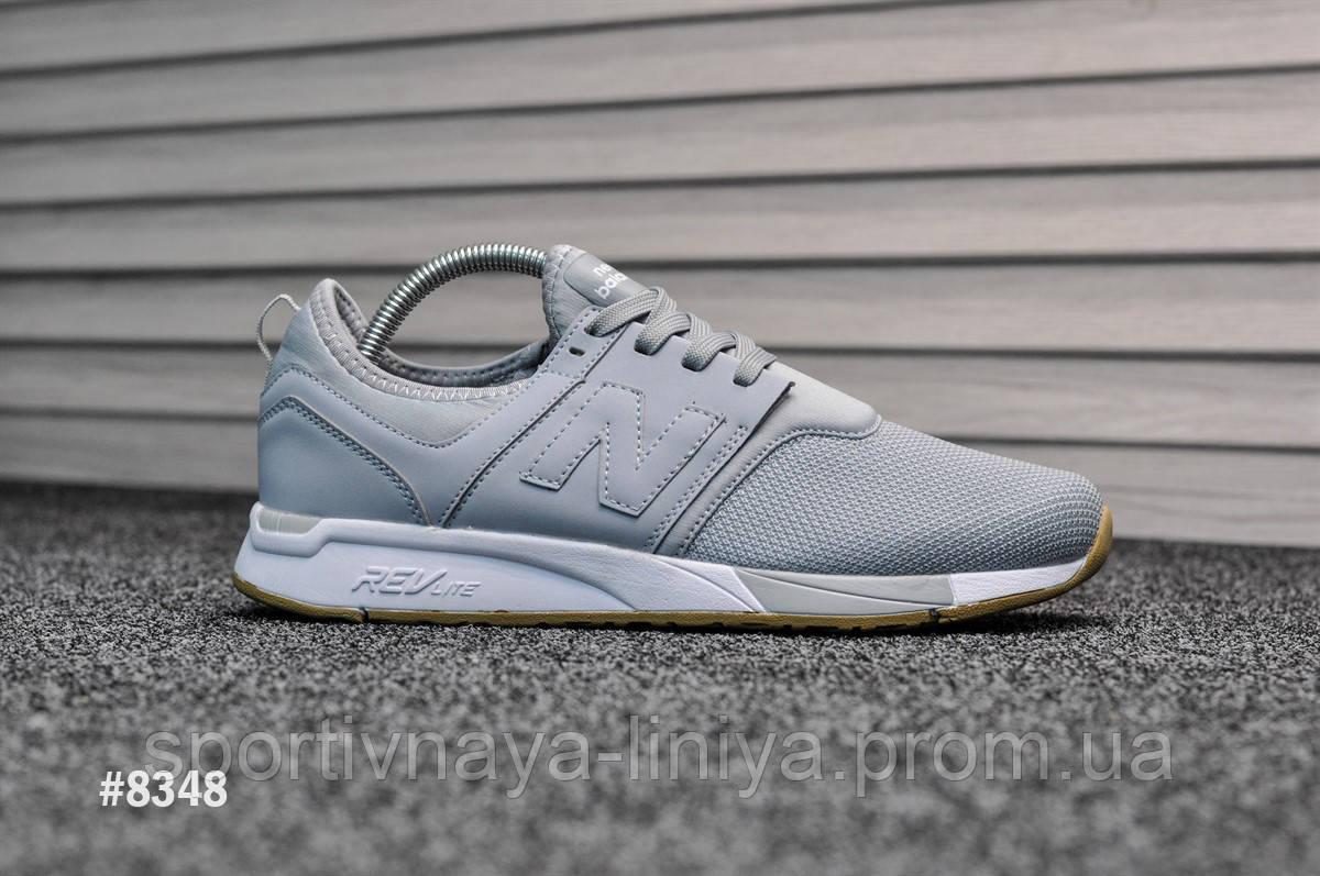 Мужские серые кроссовки New Balance 247 Gray (реплика)