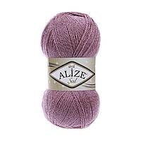 Пряжа для вязания с люрексом Alize Sal Sim 100гр./460м