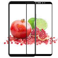 Защитное стекло AVG для Xiaomi Mi Max 3 полноэкранное черное