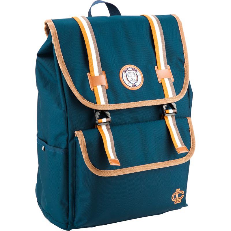 Трендовый школьный рюкзак с ортопедическими системами и умным органайзером. Бесплатная доставка.