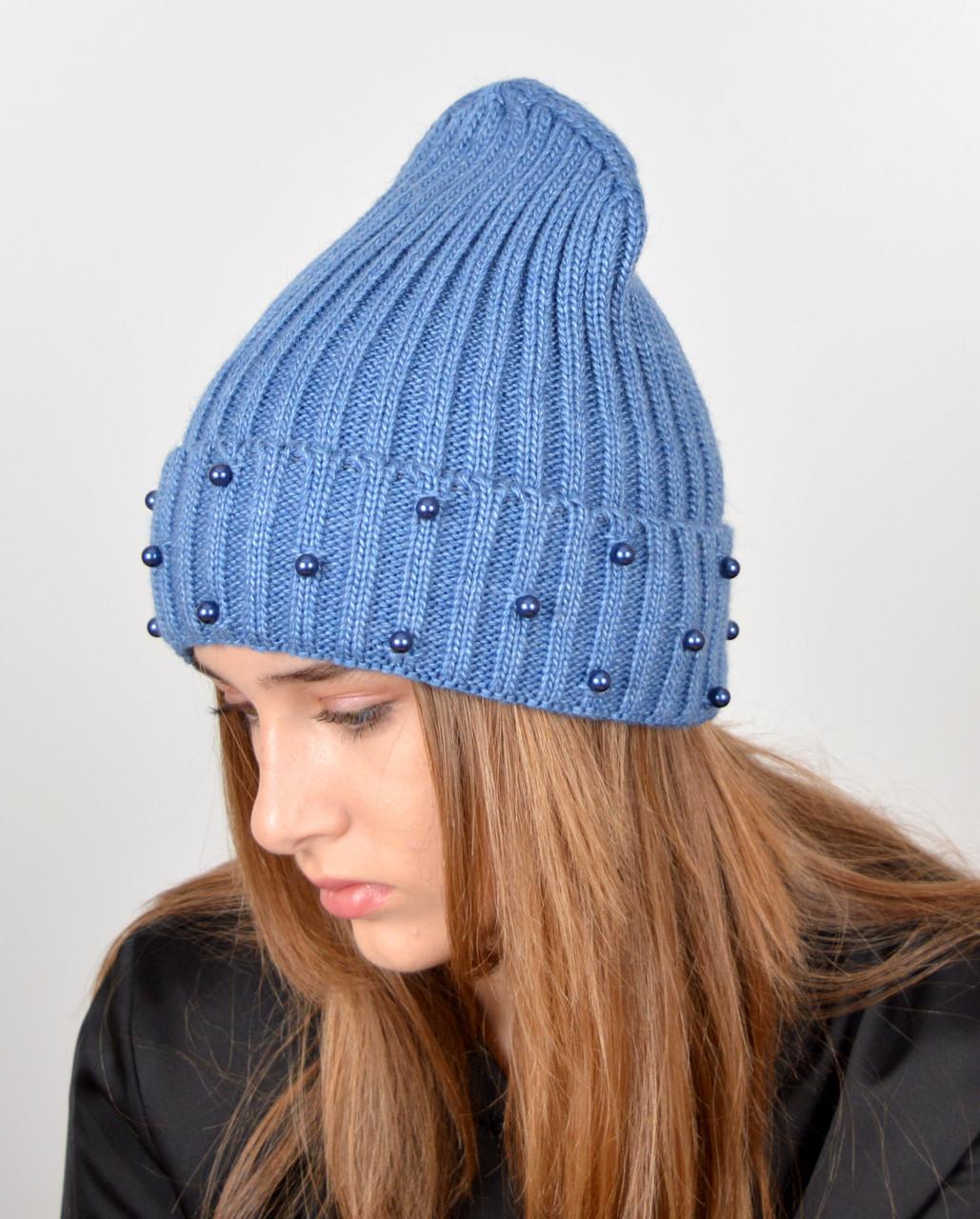 шапка жемчуг оптом