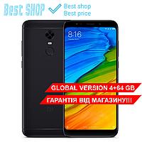 Черный Xiaomi Redmi 5 Plus 64 GB GLOBAL