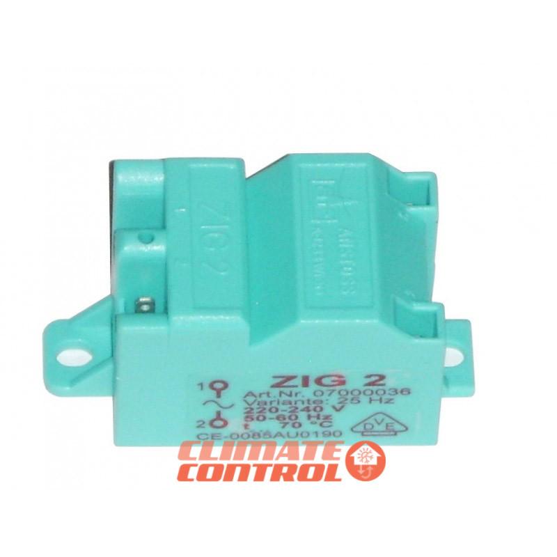 Высоковольтный трансформатор розжига SAUNIER DUVAL 504 NAC, Ariston 0.504.501