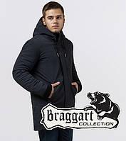 Braggart Black Diamond 9055 | Куртка зимняя мужская графит р. 46