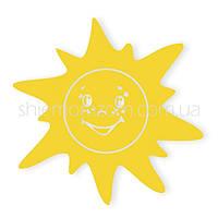 Термонаклейка Солнышко желтое