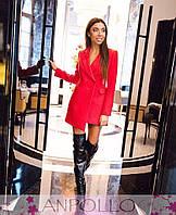 Ассиметричное платье-пиджак., фото 1