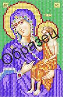 Схема для вышивки бисером «Пресвятая Богородица Воспитание»