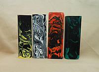 Бруски Черно-желтый, Черно-белый, Красно-черный, Сине-зеленый под всадной монтаж рукояти ножа
