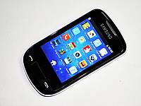 "Телефон Samsung R3850 - 2Sim + 3.2"" + Чехол, фото 1"