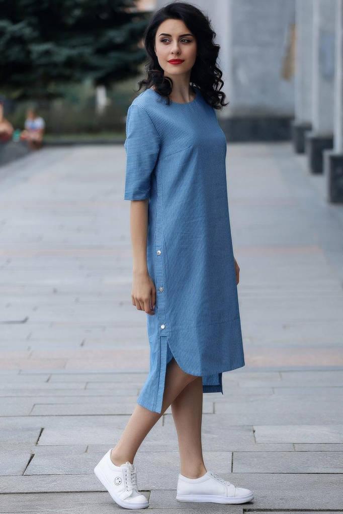 Платье Navy в голубую полоску