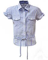 """Блуза для девочки """"Поясок"""""""